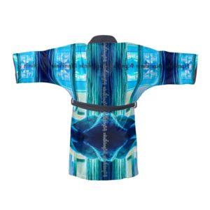 Miami Blue Kimono