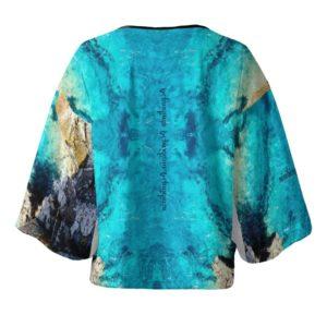 Blau Kimono Jacket