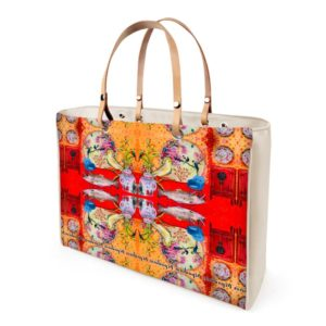 CHINA ⛩ RED Handtasche