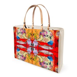CHINA ⛩ RED II Handtasche