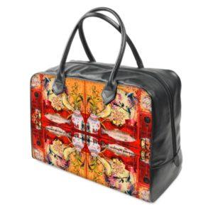 CHINA RED Reisetasche