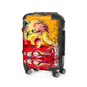 BIG CHINA RED SUITCASE