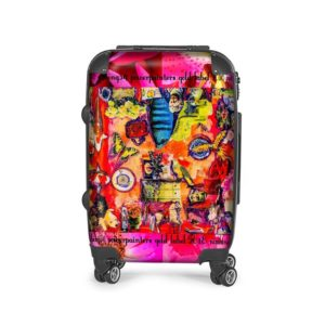 BIG FISH BLUE SUITCASE