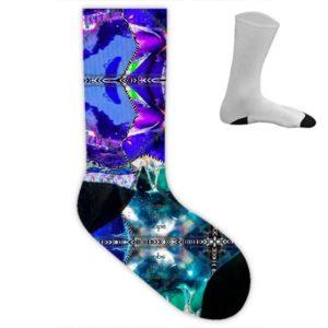 Miami Medusa Blue III Socken