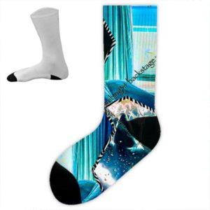Miami Nights Blue Socken