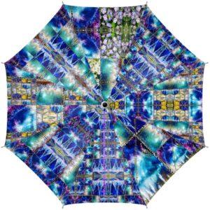 Miami Medusa Blue Regenschirm