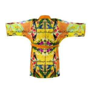 ORCHID YELLOW Kimono