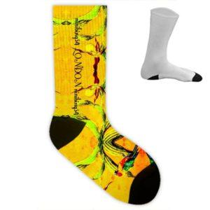 Orchid Yellow Socken