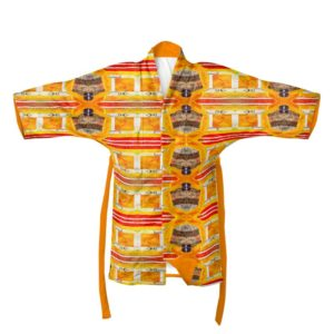Orchid Yellow2 Kimono