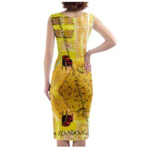 ORCHID YELLOW Designer Kleid