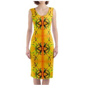 ORCHID YELLOW 2 Designer Kleid