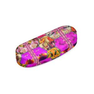 Pink Jaguar Hardcase Brillenetui
