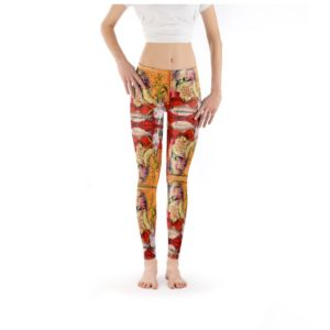 CHINA RED GIRL Leggings