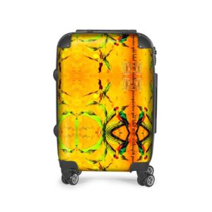 awesome SUITCASE ✈️ YELLOW ORCHID