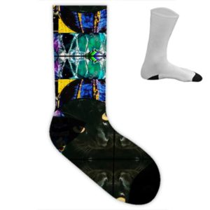 Miami Medusa blue I Socken