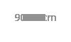 90x90cm